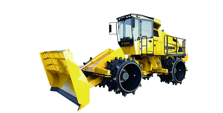 Machines for landfills, composting and recycling